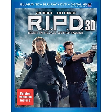 R.I.P.D 3D (Blu-Ray)