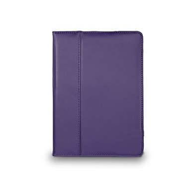 Cyber Acoustics iPad Air Cover Case, Leather, Purple