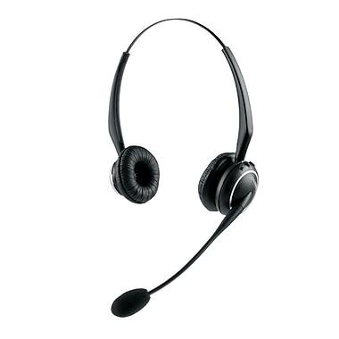 JabraMD – Casque d'écoute GN9125 Duo sans fil avec microphone sur tige Flex