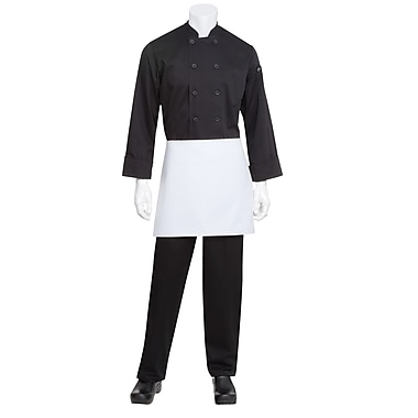Chef Works® 4-Way Apron Without Pouch Pockets, White