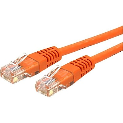 StarTech C6PATCH15OR 15' CAT-6 Patch Cable, Orange