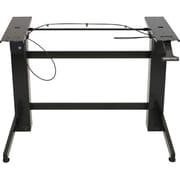 Ergotron® WorkFit-B, Sit-Stand Base High Definition, Black