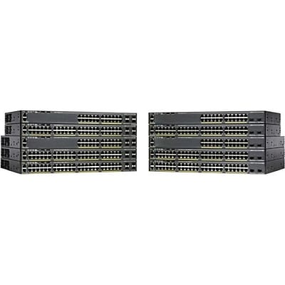 Cisco™ Catalyst 2960-X Managed Ethernet Switch, 24 Ports (WS-C2960X-24TS-LL)