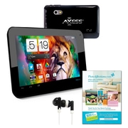 "Axess TA2510-7 7"" Tablet, Android Jelly Bean, Black"