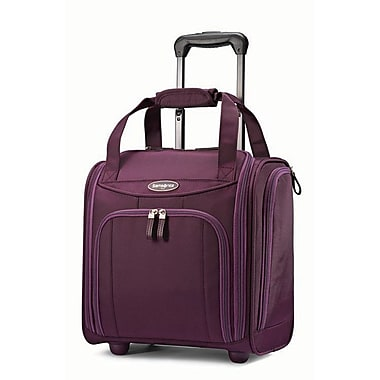 Samsonite Small Travel Wheeled Underseater Suitcase, Purple