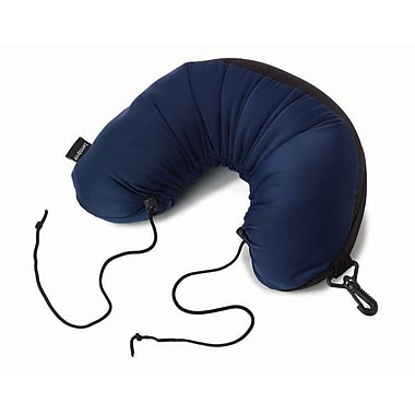 Samsonite Microbead 3-in-1 Travel Neck Pillow, Blue