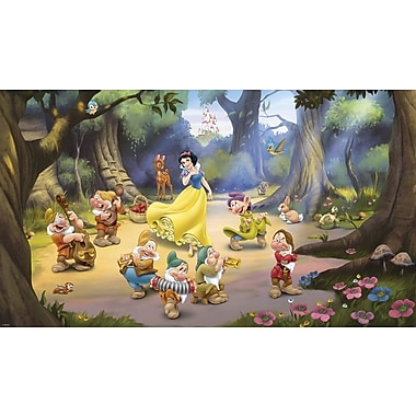 RoomMates® Snow White and the Seven Dwarfs XL Wallpaper Mural, 10.5' x 6'