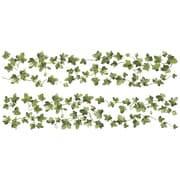 """RoomMates® Painterly Peel and Stick Ivy Wall Decal, 9"""" x 40"""""""
