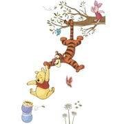 "RoomMates® Winnie the Pooh Swinging for Honey Peel and Stick Giant Wall Decal, 18"" x 40"""