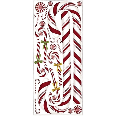 RoomMates® Candy Cane Peel and Stick Giant Wall Decal, 18
