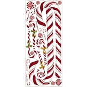 "RoomMates® Candy Cane Peel and Stick Giant Wall Decal, 18"" x 40"""