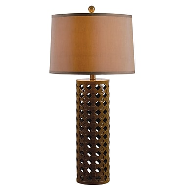 Kenroy Marrakesh Table Lamp w/ Chocolate Finish & 15