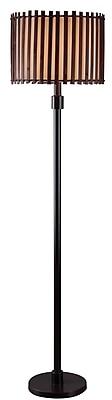 Kenroy Home 100 W 1 Light Bora Outdoor Floor Lamp, Bronze