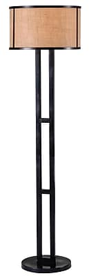 Kenroy Home 150 W 1 Light Keen Floor Lamp, Bronze
