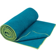 Gaiam® – Serviette Thirsty Yoga, bleu sarcelle