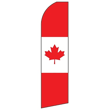 Swooper Message Banner Kit With Pole & Ground Spike, Canada