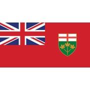 Drapeau provincial, Ontario, 36 x 60 po