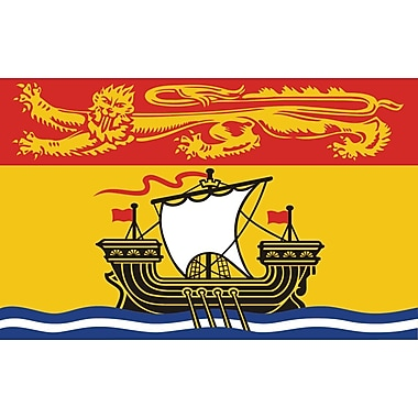 Provincial Flag, New Brunswick, 4