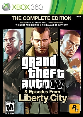 T2™ 39871 Grand Theft Auto IV: The Complete Edition, Action/Adventure, Xbox 360