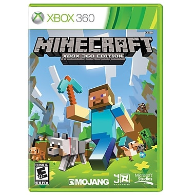 Microsoft® G2W-00002 Minecraft: Xbox 360 Edition, Adventure, Xbox 360