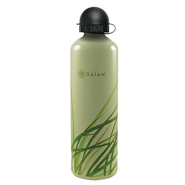 GaiamMD – Bouteille d'eau en aluminium avec capsule de style 2, 750 ml, herbe