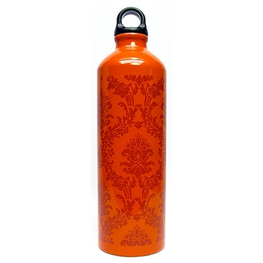 Gaiam® Aluminum Water Bottle with Cap Style 1, 750mL, Neo-Baroque
