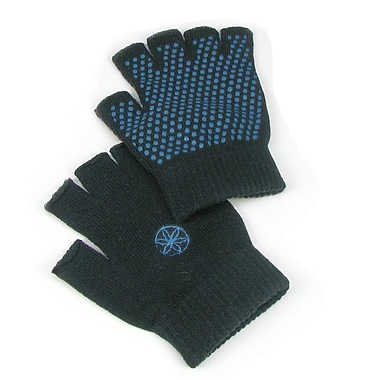 Gaiam® Super Grippy Yoga Gloves, Blue Grippers