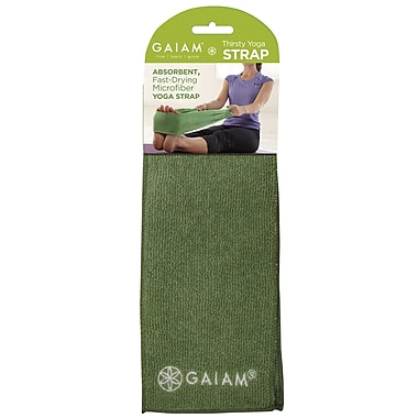 Gaiam® Thirsty Yoga Strap, Green