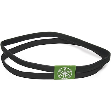 Gaiam® Dual-Grip Headband, Black
