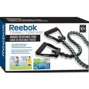 Reebok Braided Resistance Cord Kit with DVD