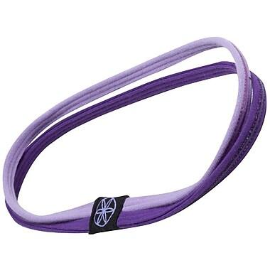 Gaiam® Dual-Grip Headband, Purple/Violet