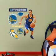 Fathead NBA Wall Decal; Golden State Warriors - Curry