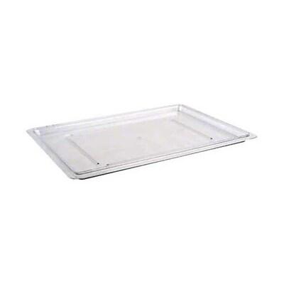 Cambro 1826CCW-135, 18'' x 26'' Full Size Flat Food Box Lid - Camwear