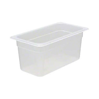 Cambro 36PP190, 5.6 qt Third-Size Translucent Food Pan