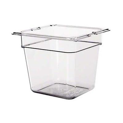 Carlisle 1030207, TopNotch® One-Sixth Size Food Pan, Clear