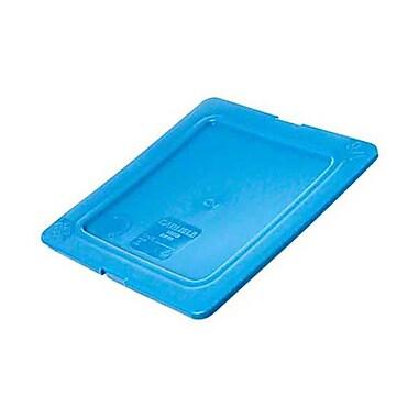 Carlisle 1031214 Polyethylene Pan Lid, Blue