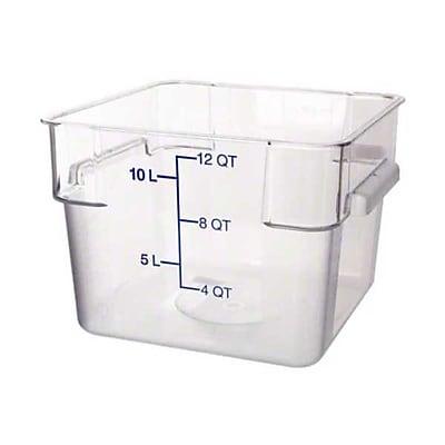 Carlisle 10724-07, 12 qt Polycarbonate StorPlus™ Food Storage Container