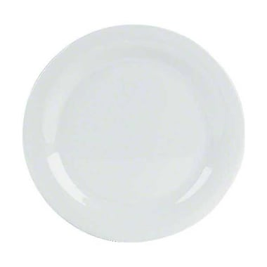 Carlisle 11'' Dinner Plates - Durus Collection, White