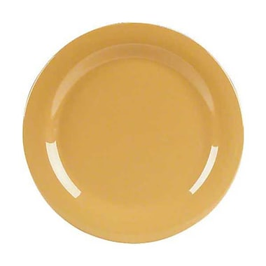 Carlisle 11'' Dinner Plates - Durus Collection, Honey Yellow