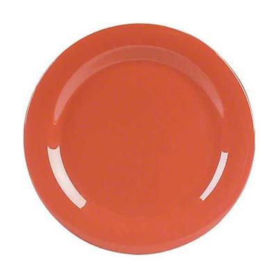 Carlisle 11'' Dinner Plates - Durus Collection, Sunset Orange
