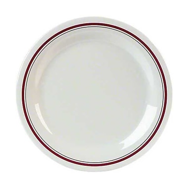 Carlisle 11'' Narrow Rim Dinner Plates - Durus Designer Collection, Morocco