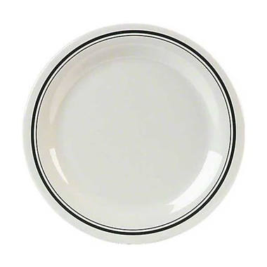 Carlisle 11'' Narrow Rim Dinner Plates - Durus Designer Collection, Orleans
