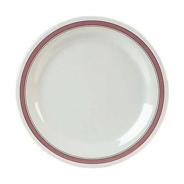 Carlisle 11'' Narrow Rim Dinner Plates - Durus Designer Collection, Parisian