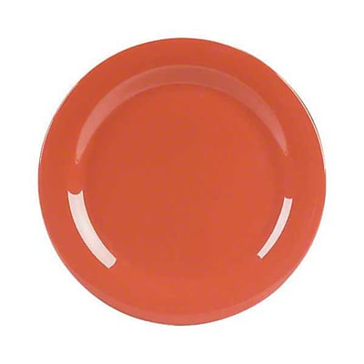 Carlisle 9'' Dinner Plates - Durus Collection, Sunset Orange
