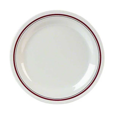 Carlisle 9'' Narrow Rim Dinner Plates - Durus Designer Collection, Morocco