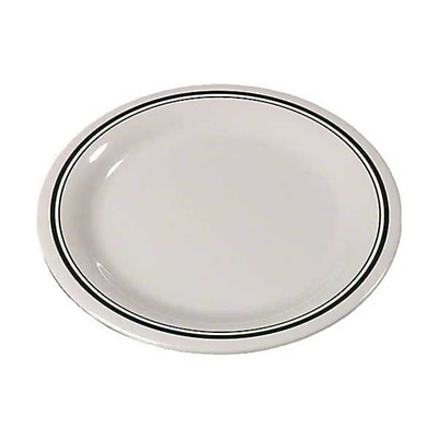 Carlisle 9'' Narrow Rim Dinner Plates - Durus Designer Collection, Orleans
