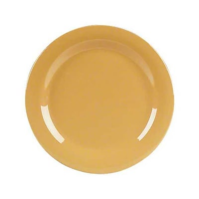Carlisle 7'' Salad Plates - Durus Collection, Honey Yellow