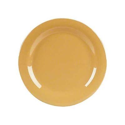 Carlisle 7'' Pie Plates - Durus Collection, Honey Yellow