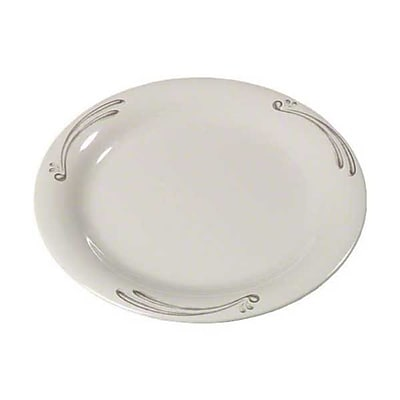Carlisle 7'' Narrow Rim Pie Plates - Durus Designer Collection, Versailles