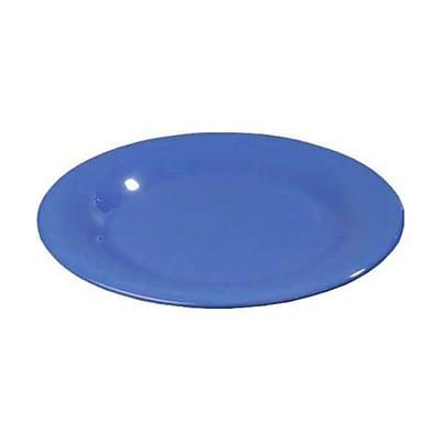 Carlisle 11'' Wide Rim Dinner Plates - Durus Collection, Ocean Blue